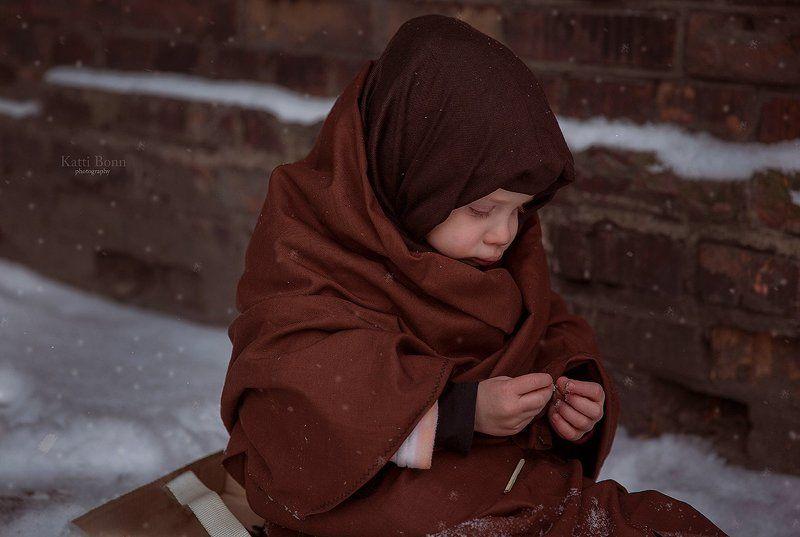 Den lille Pige med Svovlstikkernephoto preview