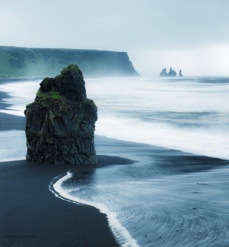 свинцовые берега Исландииphoto preview