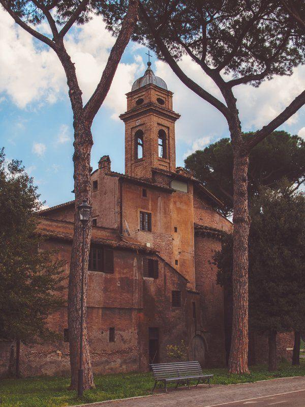 chiesa dei santi nereo e achilleo, rome, italyphoto preview