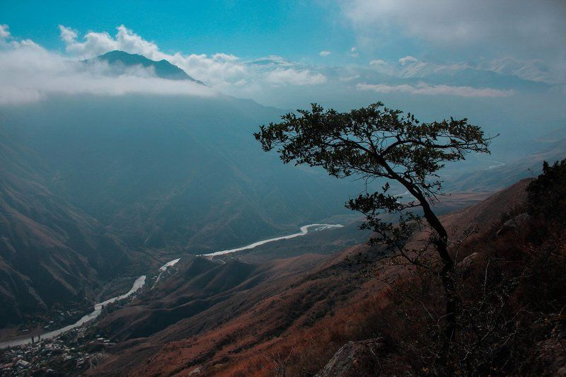 Mountain scenery of Dagestanphoto preview