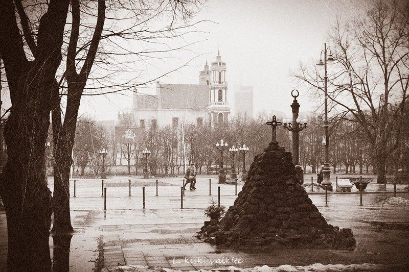 Lithuania, Vilnius Lukiškės Squarephoto preview