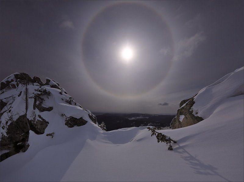 Гало Оптический феномен Затеряный мирphoto preview