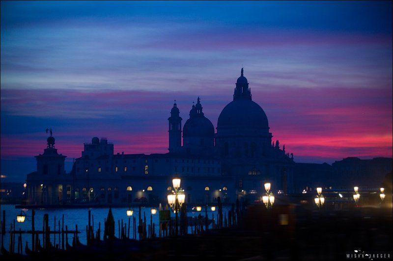 Закат венеция италия город  небо Закатная Венецианскаяphoto preview