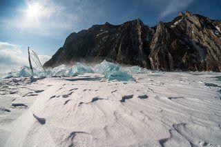 Холодное царство... снега, льда и скал...