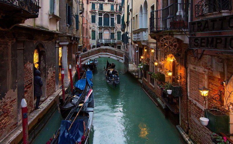 венеция Дождливым вечером...photo preview