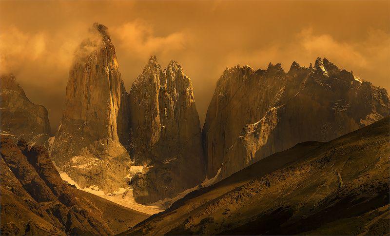 патагония Торрес дель Пайне, Патагония.photo preview
