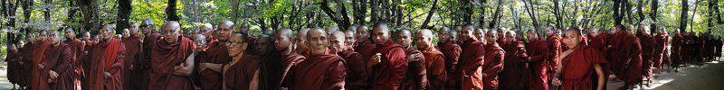 бирма, монахи Collective mindphoto preview