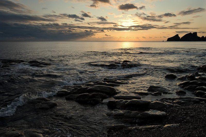 утро, море, восход Утроphoto preview