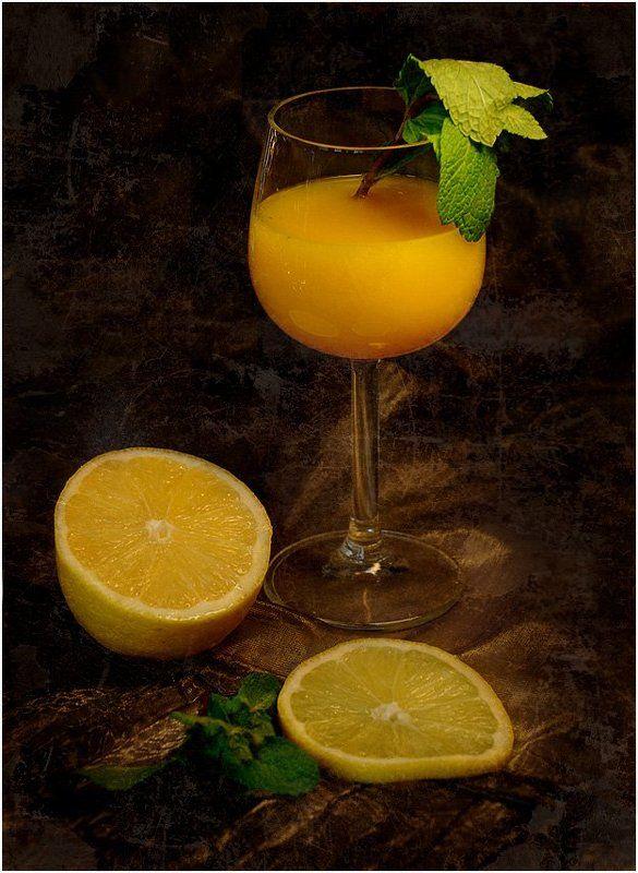 натюрморт, лимон, мята Лимон и мятаphoto preview