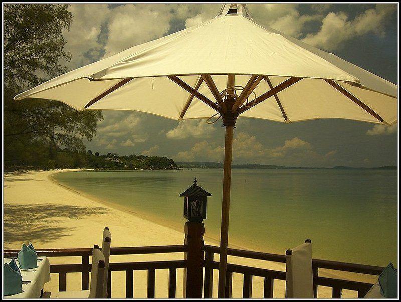 Завтрак на берегу океана, Камбоджияphoto preview