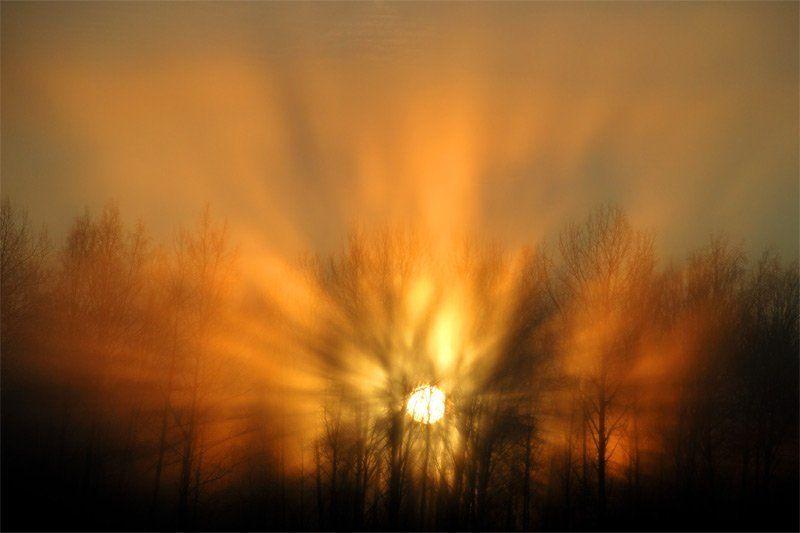 солнце, лучи, пейзаж Ярилоphoto preview