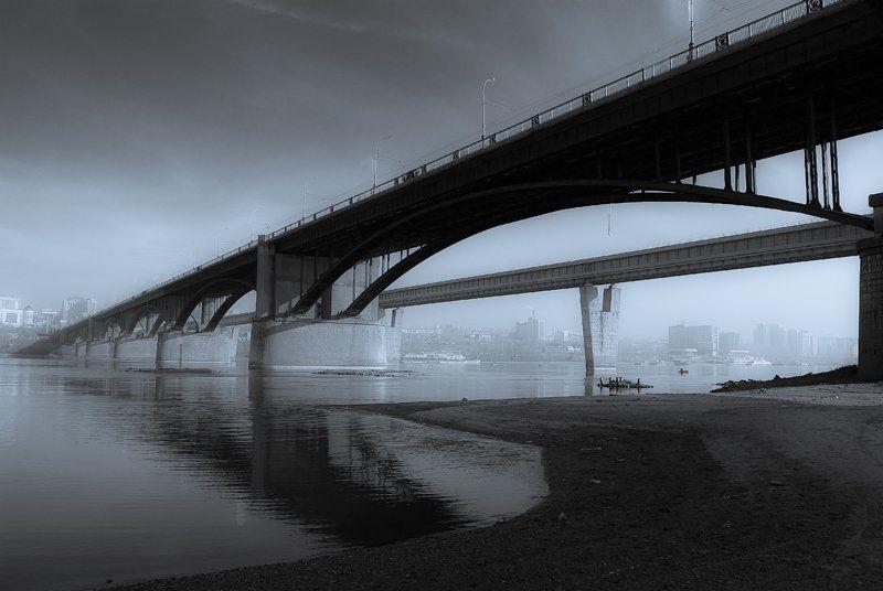 новосибирск,обь,мост photo preview