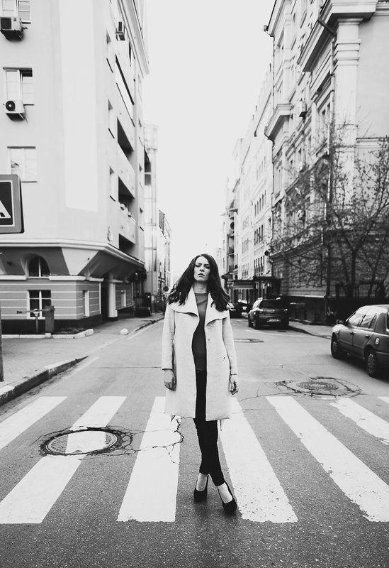 Anna Vesna, Bw, City, D600, D700, Model, Moscow, Nikon, Portrait, Russia, Street, Vitaly Zimarin, Vzimarin, весна, город, портрет, улица Annaphoto preview