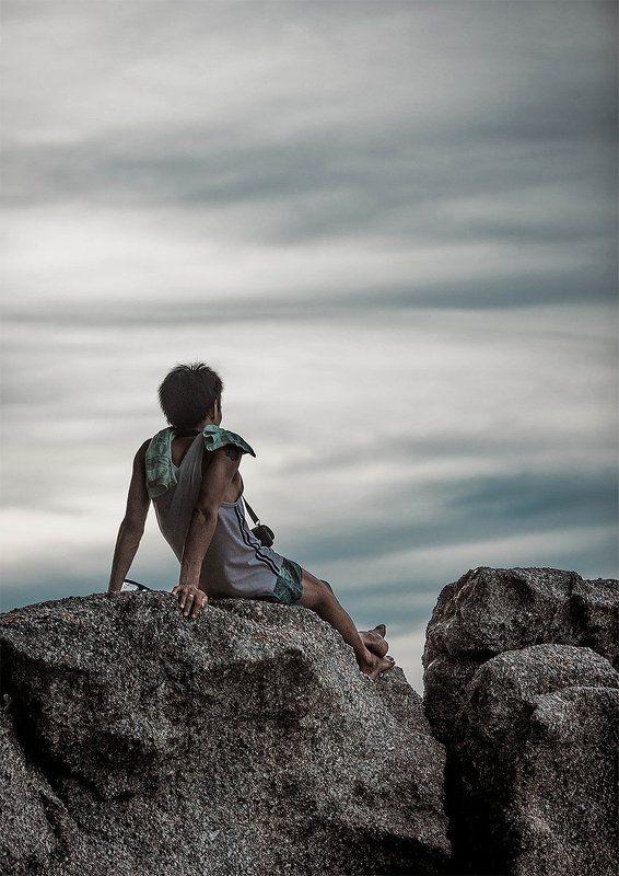 Камни, Лодка, Море, Пхукет, Тайланд Морские жители Пхукетаphoto preview