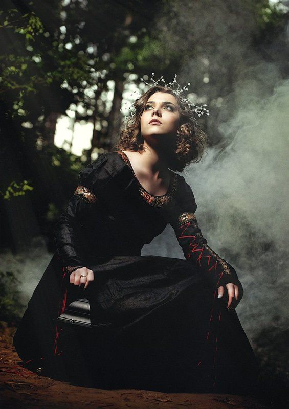 Beauty, Forest, Lady, Magic, Portrait, Queen Magic Forestphoto preview