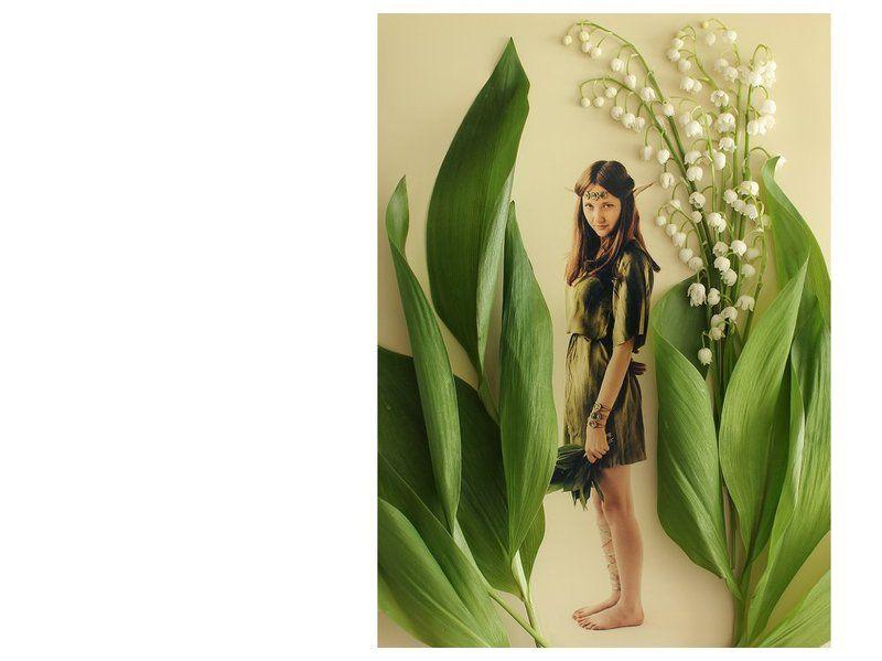 Ландыш, Цветы, Эльф Где живут маленькие лесные эльфыphoto preview