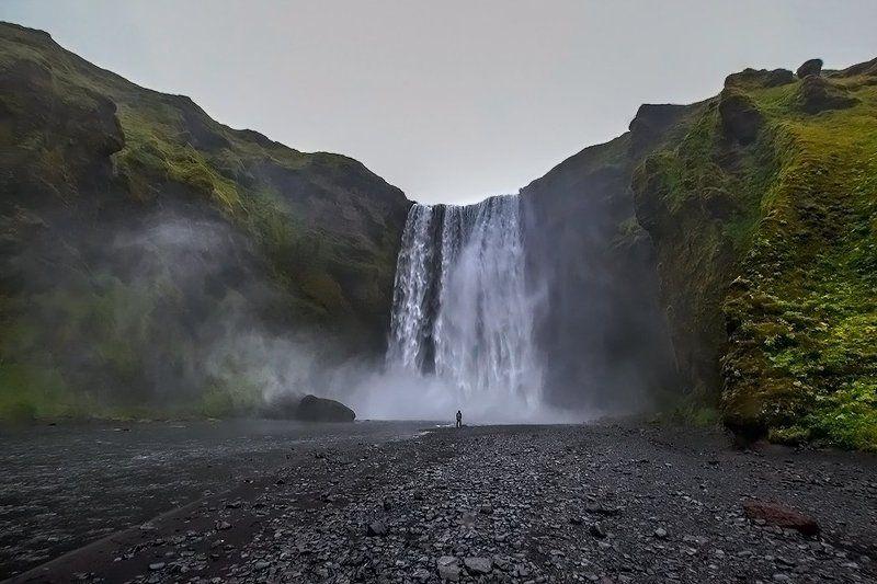 водопад скогафосс, исландия Водопад Скогафосс.photo preview