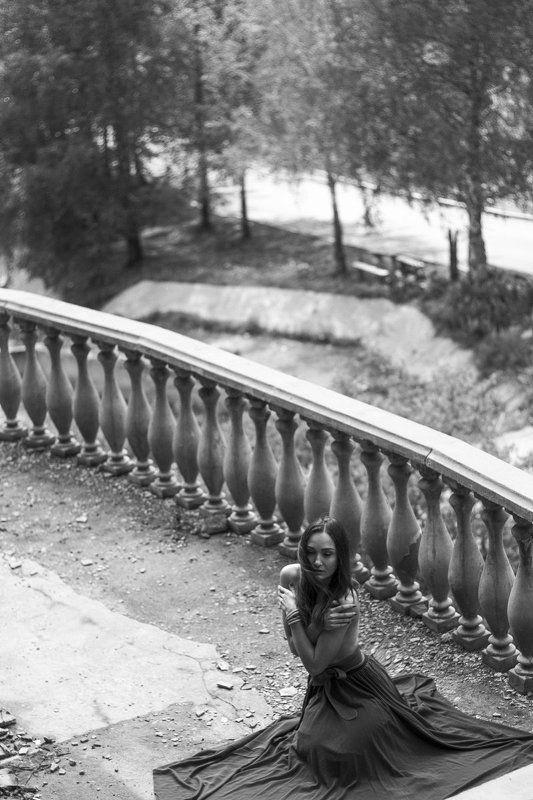 Black and white, Bw, Girl, Nude, Алматы, Девушки, Медео, Мистика, Ню, Портрет, Эротика Дом на Медеоphoto preview