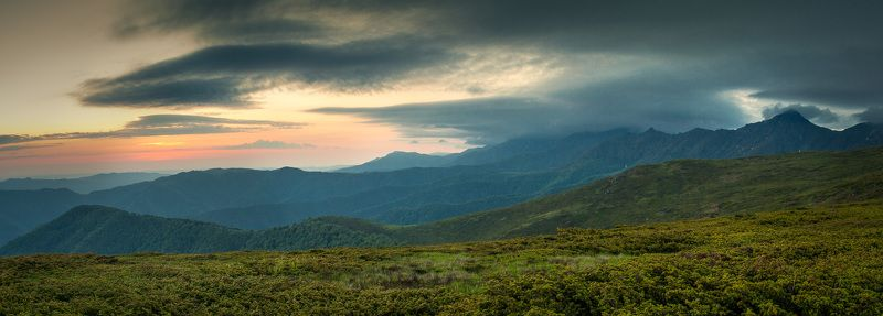 Ambarica Hut, Bulgaria, Cental balkan national park, Landscape, Sunrise Sunrisephoto preview