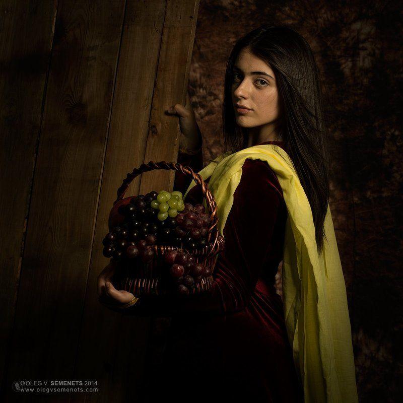 Portrait of an Armenian girlphoto preview