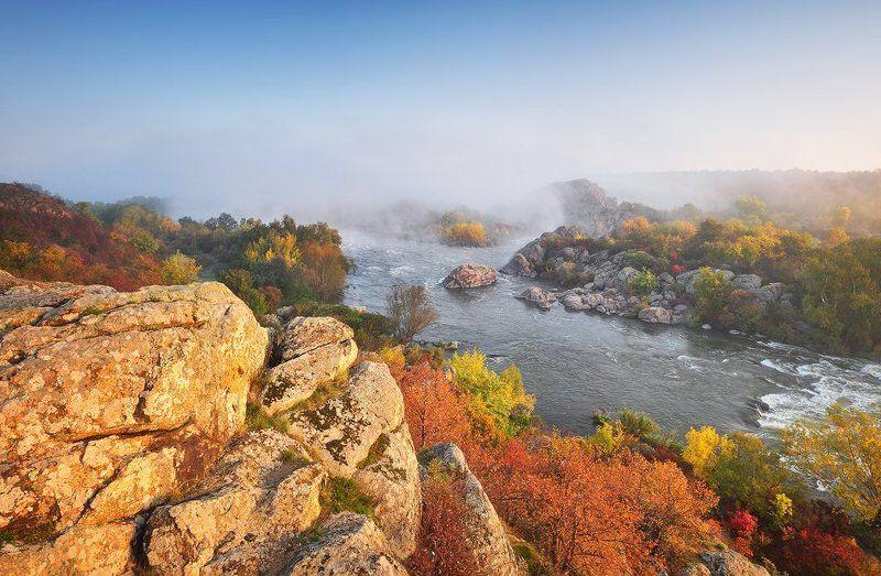 Осень на Южном Буге...photo preview
