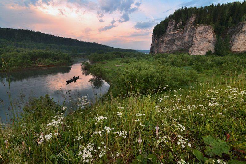 Вишера, Пейзаж, Пермский край Красавица Вишераphoto preview
