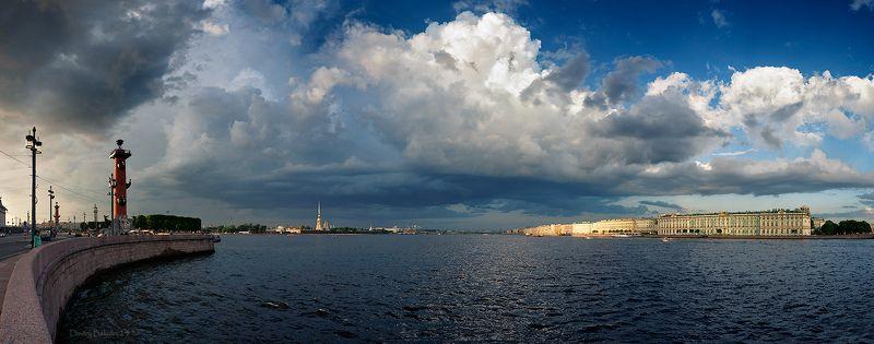 Санкт-петербург Акваториальная панорамаphoto preview