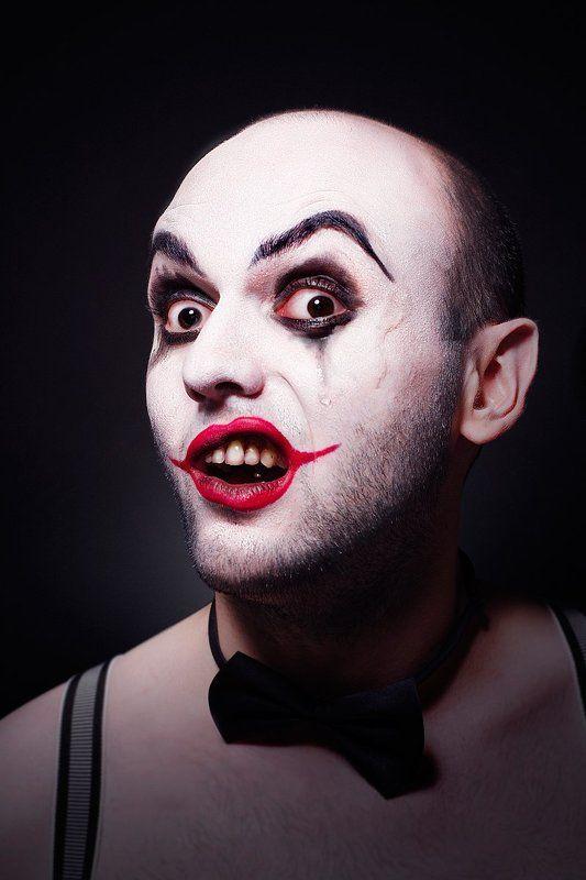Bowtie, Clown, Man, Strange, Бабочка-галстук, клоун Клоунphoto preview