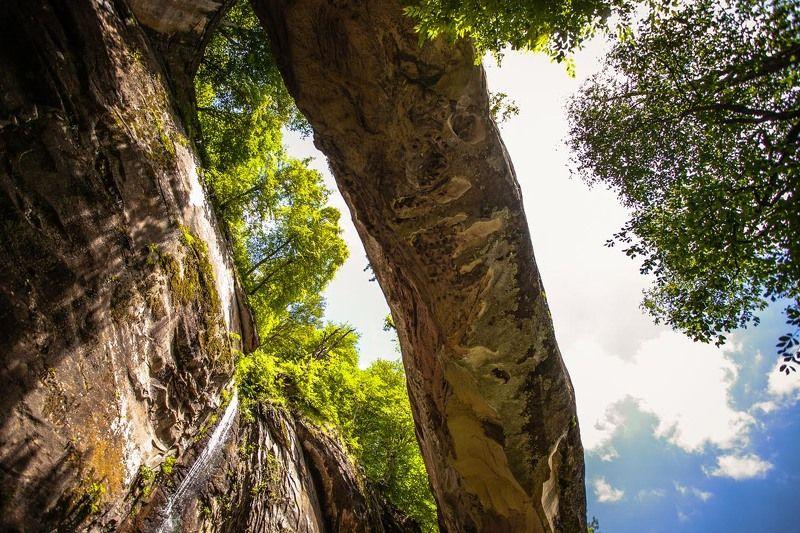 Кужникский природный мост фото превью
