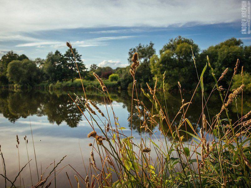 Вода, Закат, Небо, Природа, Украина Вечерняя велопрогулка. Буча, Блиставица, Гостомель, Мироцкоеphoto preview