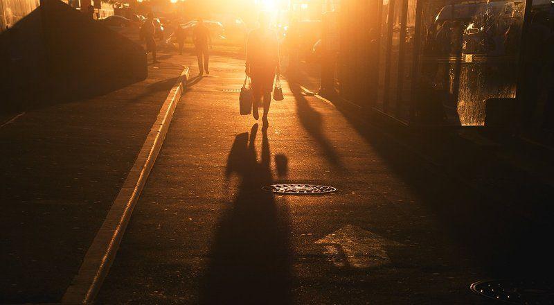City, People, Saint-Petersburg, Summer, Sun, Вечер, Город, Люди, Солнце ***photo preview