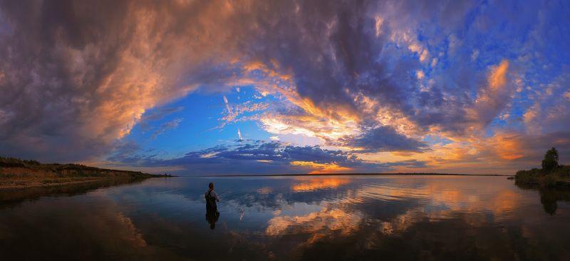 Вечерняя рыбалка.photo preview
