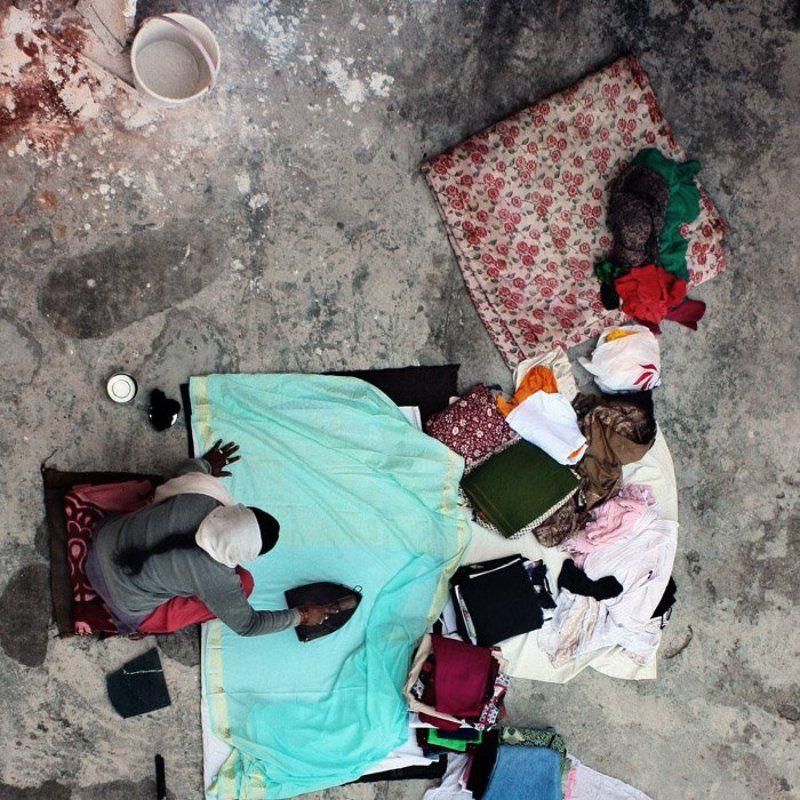 Вещи, Девушка, Индия ***photo preview