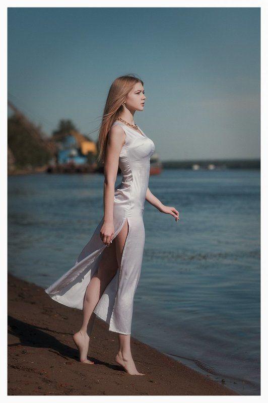 девушка, портрет, природа, лето, река, вода, мода, Summer dreamphoto preview