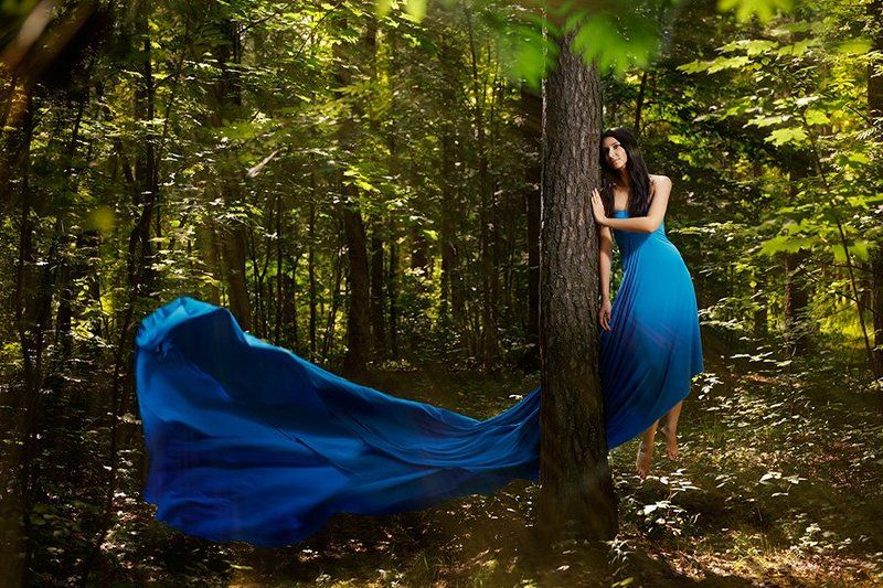 Fly, Forest, Woman Brujaphoto preview