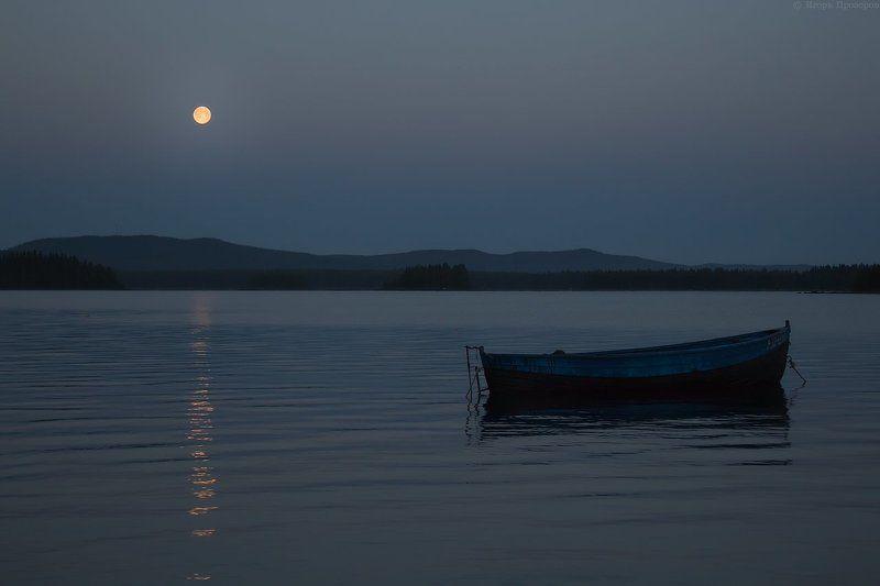 Луна, Ночь, Полнолуние Silence...photo preview