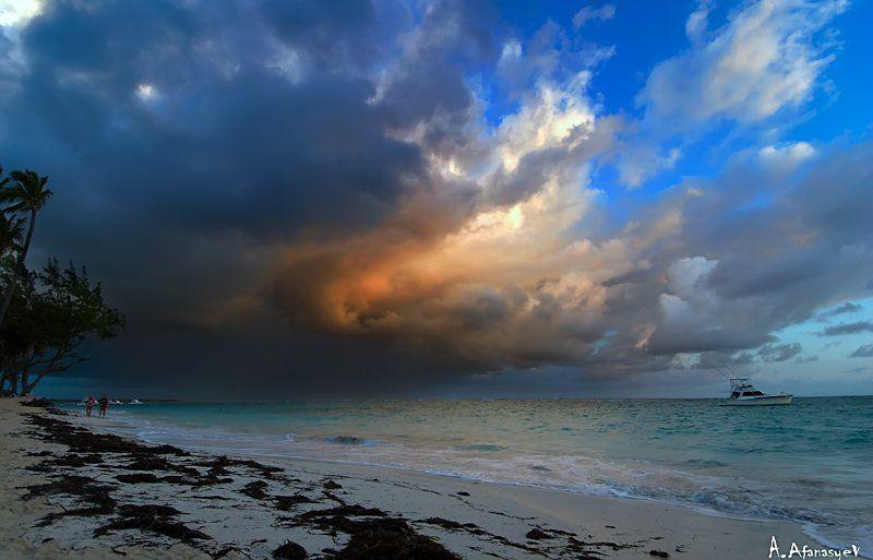 dominicana,атлантика,море,шторм,дождь встреча стихийphoto preview