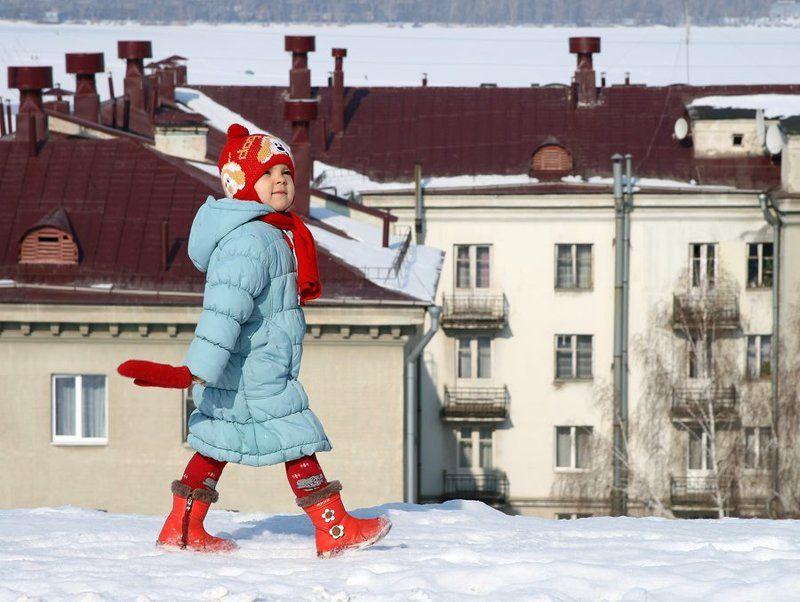 на, крыше, дома, моего Весна красна сапогамиphoto preview