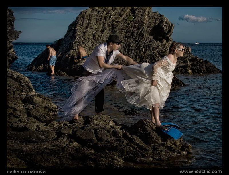 blue, lagune, wedding blue lagunephoto preview