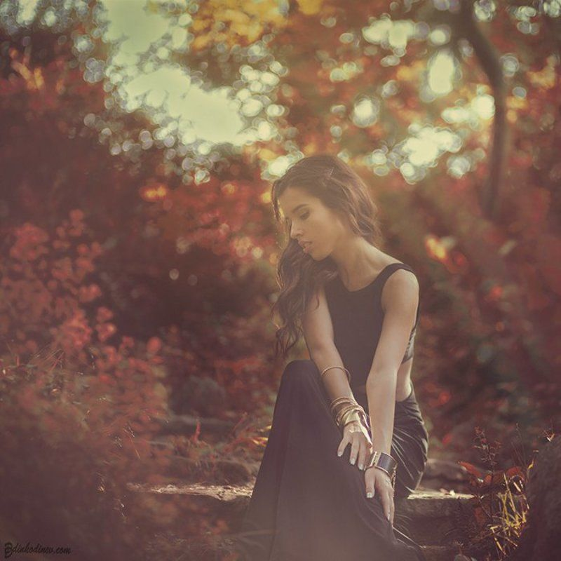 Autumn, Passion, Portrait, Woman, Девочка, Нежность, Осень, Портрет, Портрет девушки Аниphoto preview