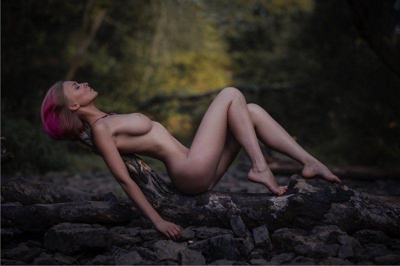 девушка, портрет, ню, лето, природа Pinkphoto preview