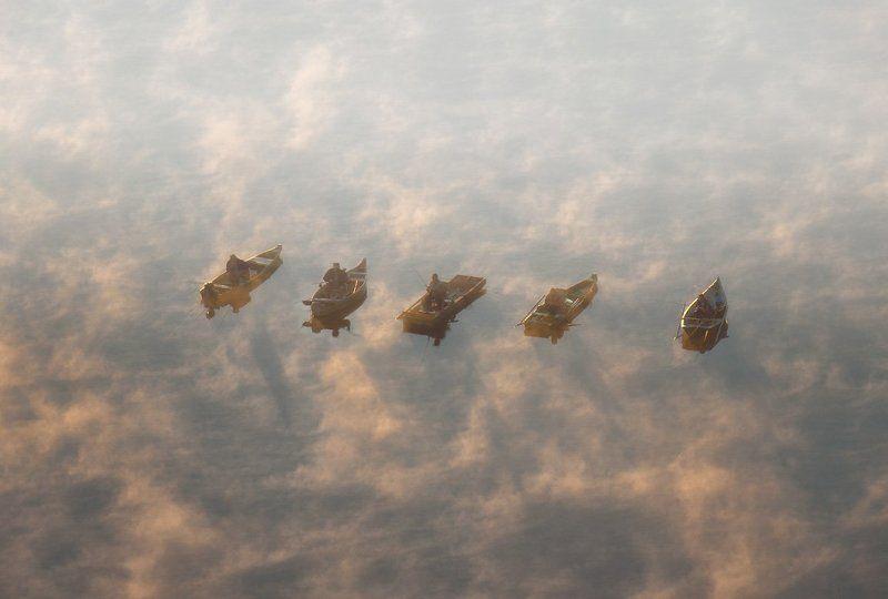Дон, Рыбалка, Утро Невесомостьphoto preview