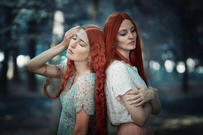 85 mm 1.8, Canon 1100d, Helena polansky, Pale winter rose, Red hair, Thirteenth tale, Twins, Vida Winter Тринадцатая сказкаphoto preview