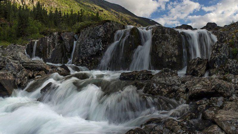 Водопады Малого Калагашаphoto preview