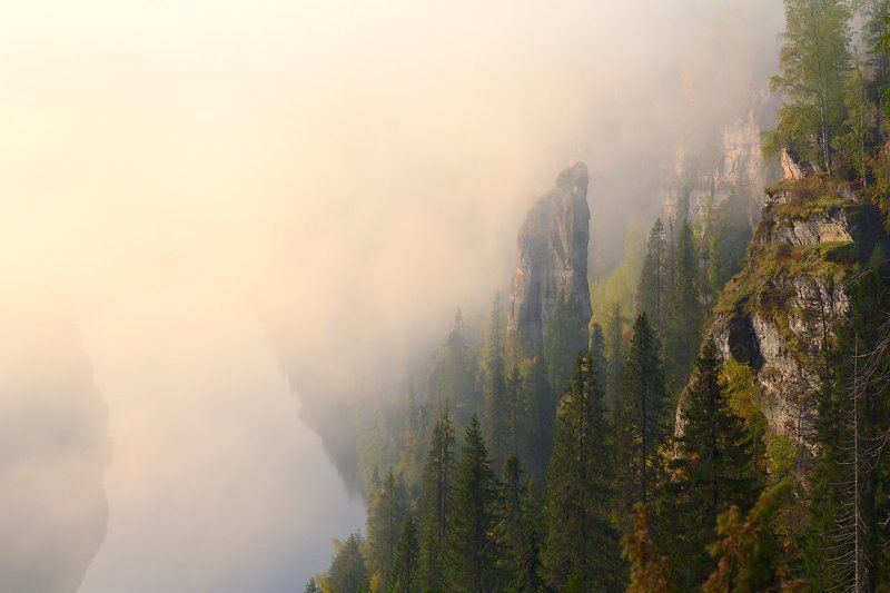 пейзаж, пермский край Усьвинские столбыphoto preview