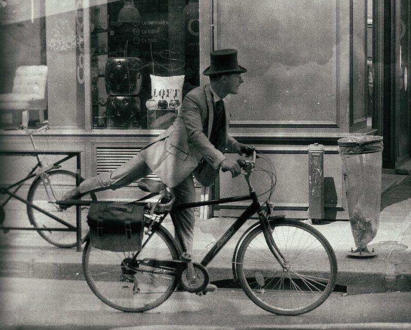 Black & white, Париж, Стрит Заблудился во времениphoto preview
