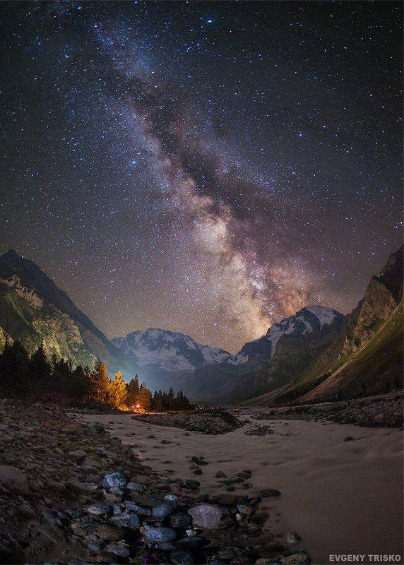 Млечный путь в горахphoto preview