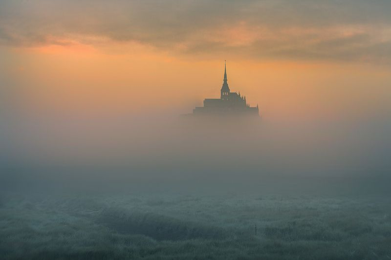 Le Mont Saint-Michel..photo preview