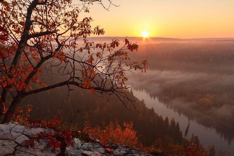 Пейзаж, Пермский край Туманная Усьваphoto preview