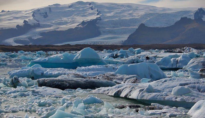 Йёкюльсаурлоун. (Ледниковая лагуна)photo preview
